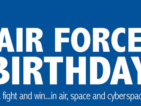 Air Force's 73rd Birthday Give Away
