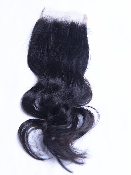Wavy Lace Closure - 16 inches