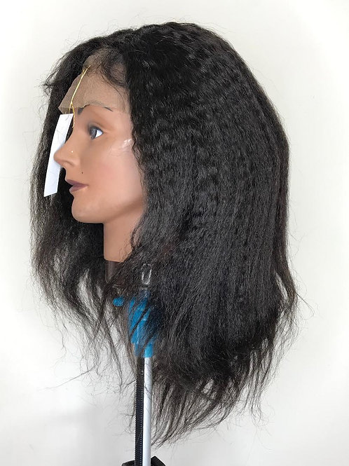 100% Yaki Lace Frontal Wig - 14in