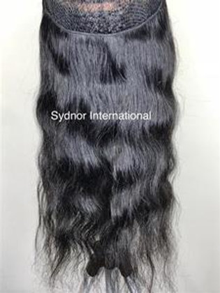 Wavy Halo Extensions (Natural Color) - 20 inches