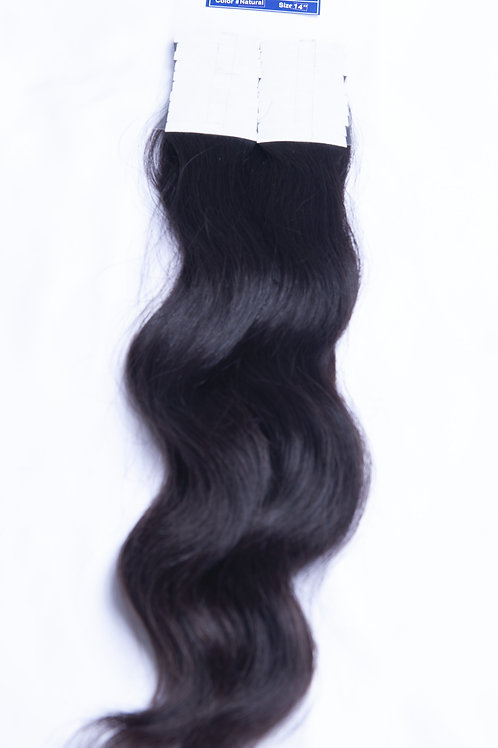 Wavy Tape-in Hair - 16 inches