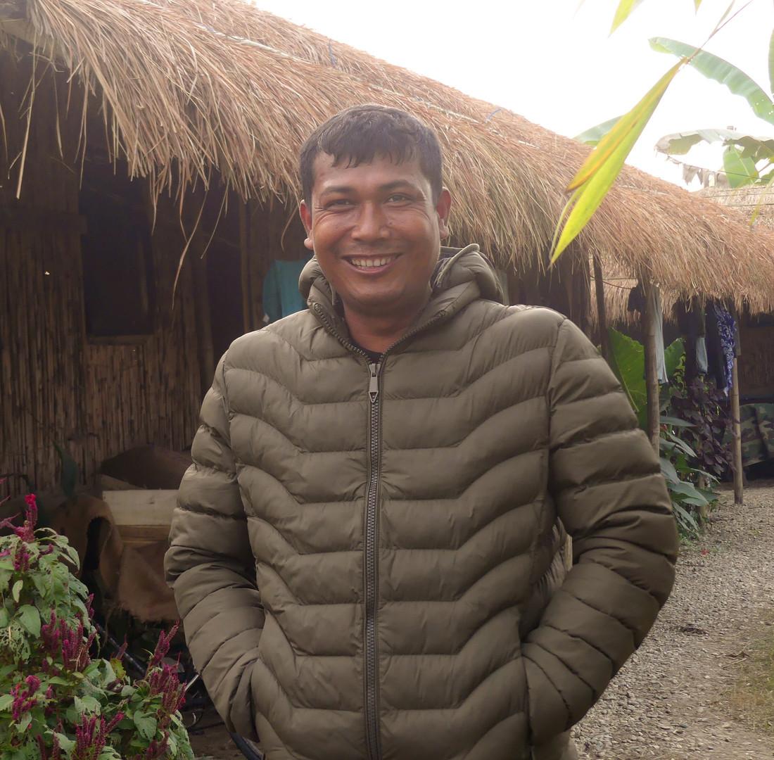 Ram Bahadur - donation jacket