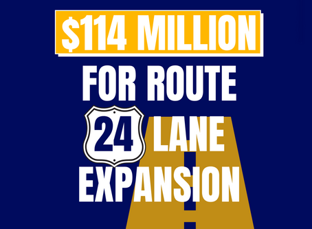 Major upgrades coming to Route 24