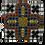 Thumbnail: Mosaic Cross Wall Hanging