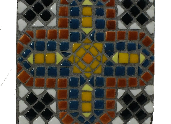 Mosaic Cross Wall Hanging