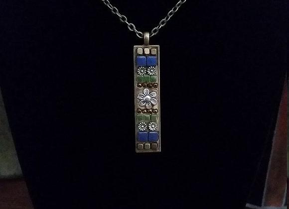 Flower Garden Pendant Necklace