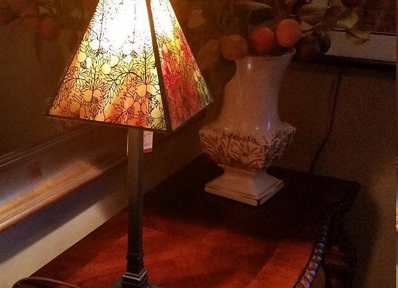 Rosehips Filigree Panel Lamp