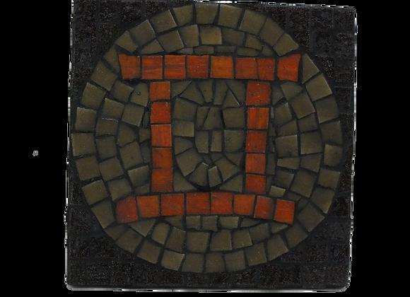 Gemini Mosaic Wall Art
