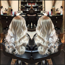 Icy blond