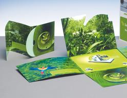 Messematerialien und Demo-Produkte für Druckveredelungsmaschinen