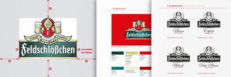 Entwicklung Markenzeichen mit Pichmännel und Corporate Design