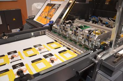 Demo-Projekte für die Veredelungsmaschinen
