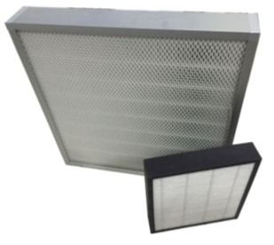 Exhaust handling unit air filters