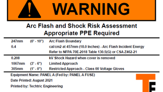 How to Read Arc Flash Labels