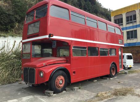 ロンドンバス 塗装
