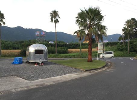 エアストリーム 志布志町夏井の敷地
