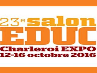 23ème salon de l'éducation à Charleroi
