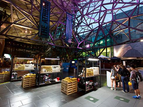 Piecework (Federation Square) - Melbourne Prize for Urban Sculpture 2014