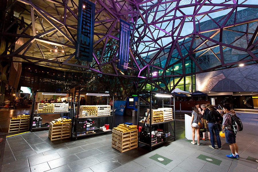 Piecework (Federation Square) - Melbourne Prize for Urban Sculpture 2014