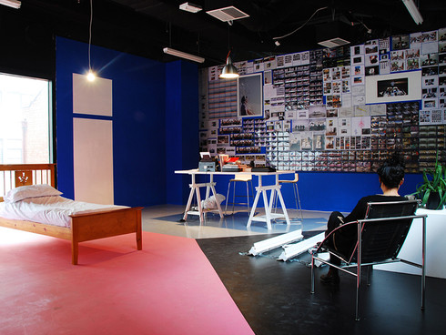 To work/ to be in three spaces/ places at once (The West Wing - West Space) 2009