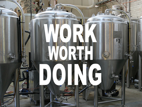 WORK WORTH DOING (Castlemaine State Festival) 2019