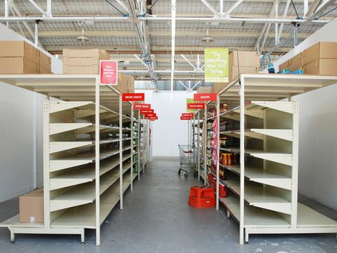 Supermarket Aisle (VCA Graduate Exhibition) 2007