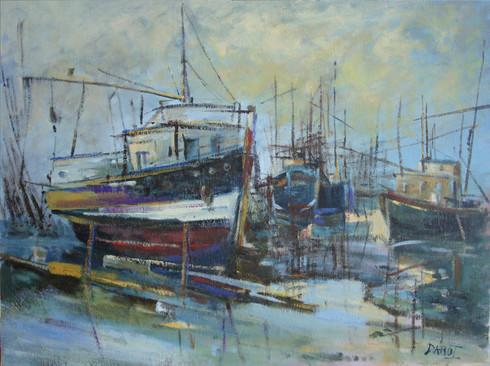 Port à Marée Basse