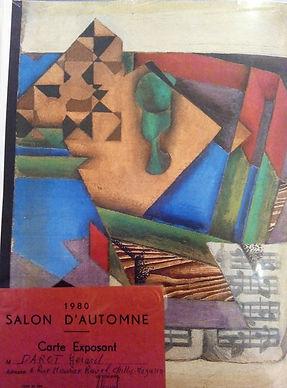 Salon d'Automne Paris Grand Palais 1980