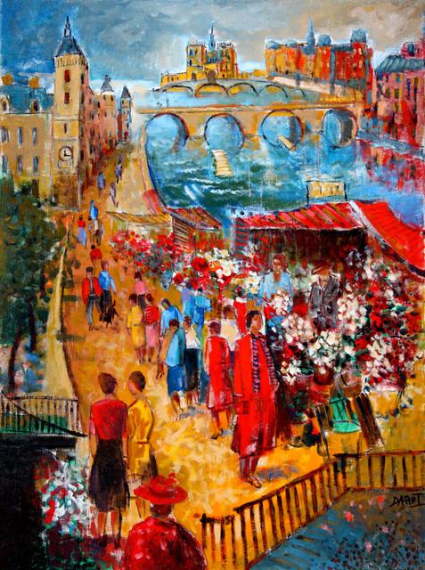 Le Marché aux Fleurs, Collection privée