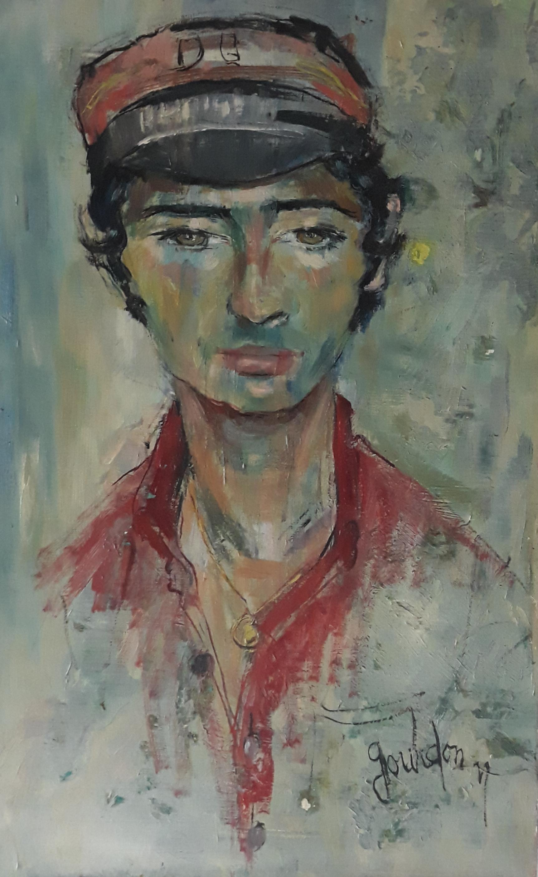 Portrait du peintre par Gourdon