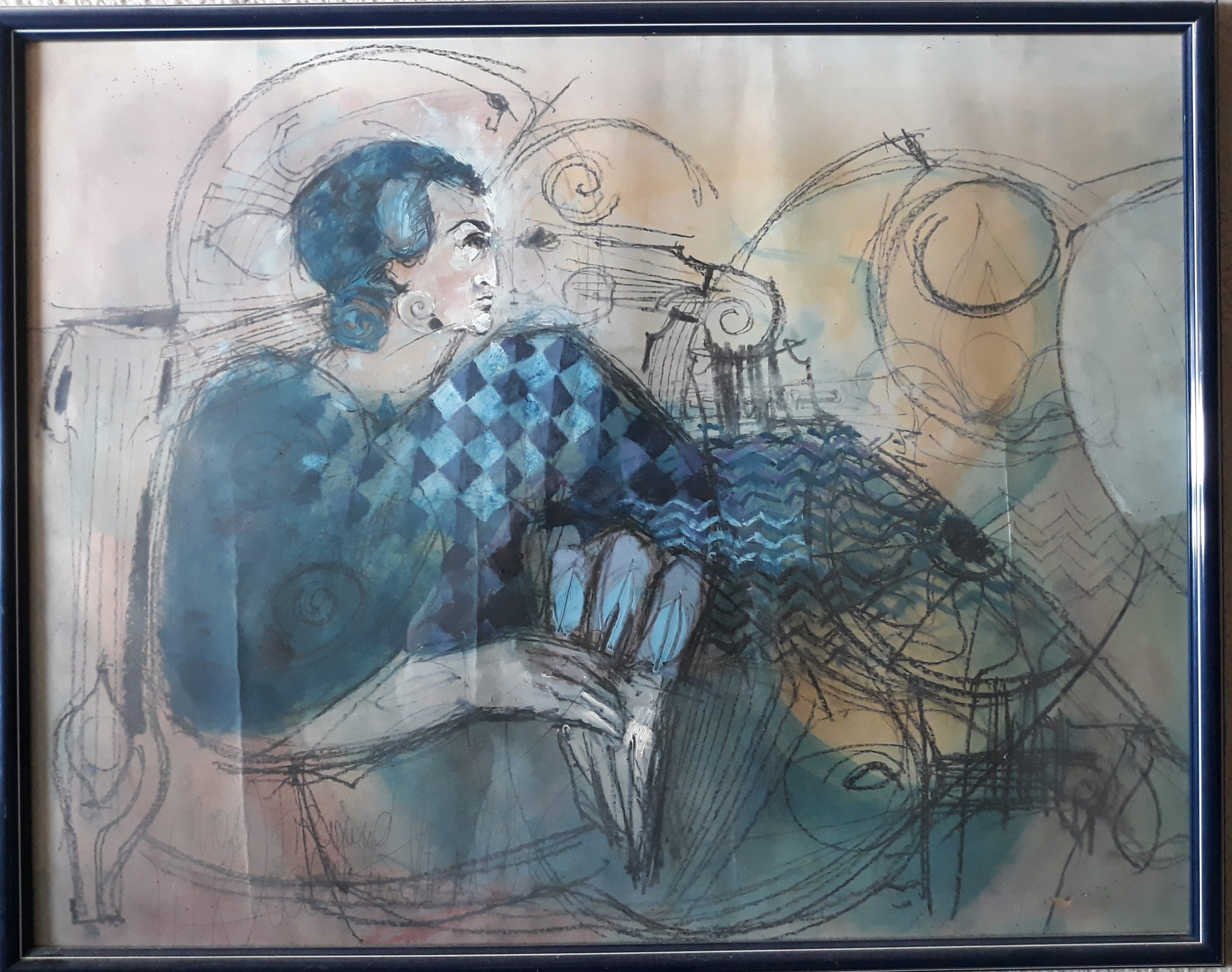 Portrait du peintre par Muller