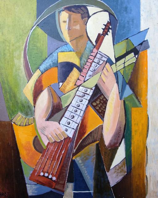 Le Guitariste, Collection privée