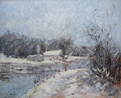 Il neige dans la campagne, Collection particulière