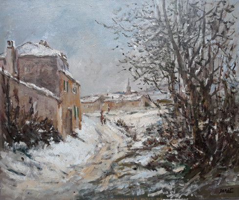 Neige, 1982, Collection privée