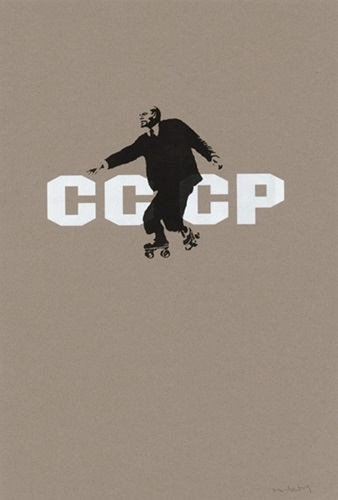 CCCP LENIN ON SKATES