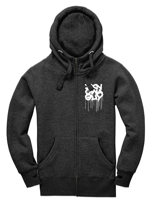 I KNOW A GUY Hoodie (black melange)