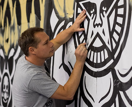 Street Artist Shepard Fairey from Los Angeles
