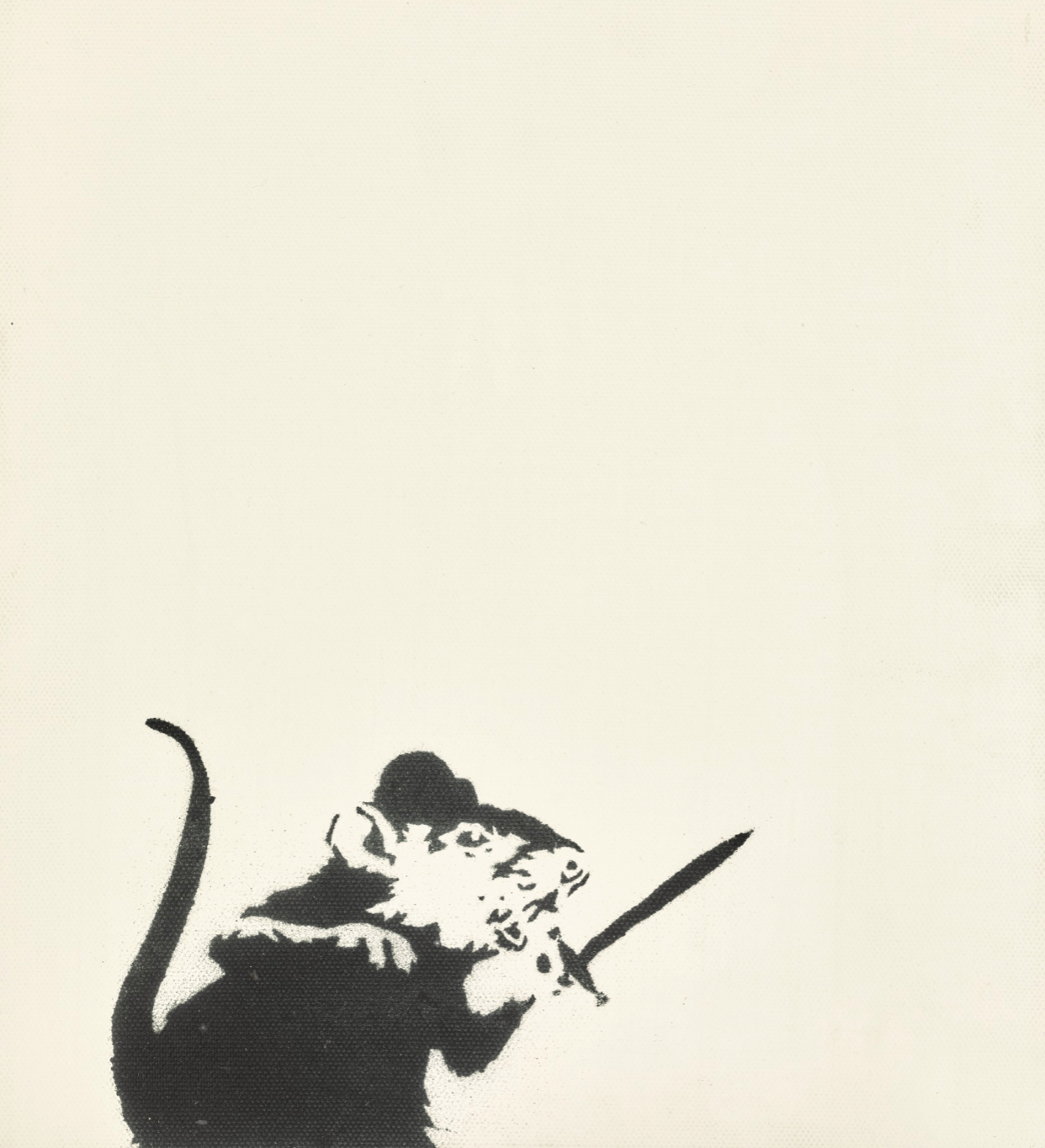UNTITLED (rat and sword)