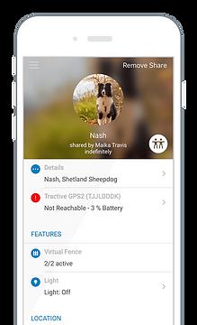 Tractive App Cerco Virtual