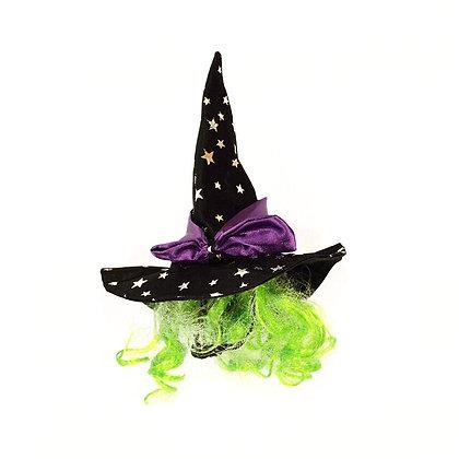 Sombrero de brujas para perrita - Halloween