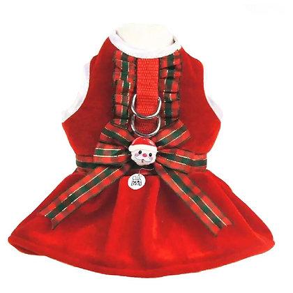 Arnés Vestido Christmas Perrita