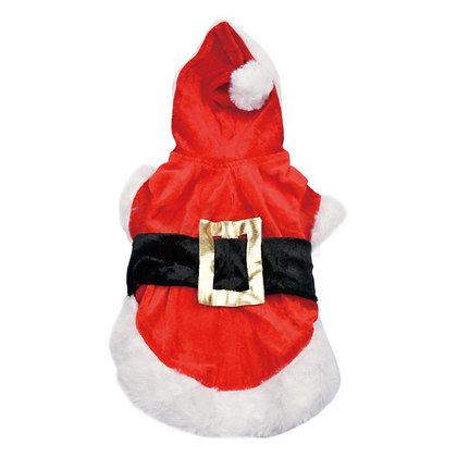 Capa Santa Claus para perrito - Christmas