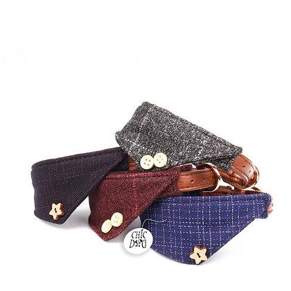 Bandana para perros insignia - London chic - variedad de colores