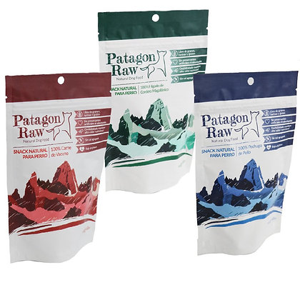 Snack 100% Naturales Patagon Raw