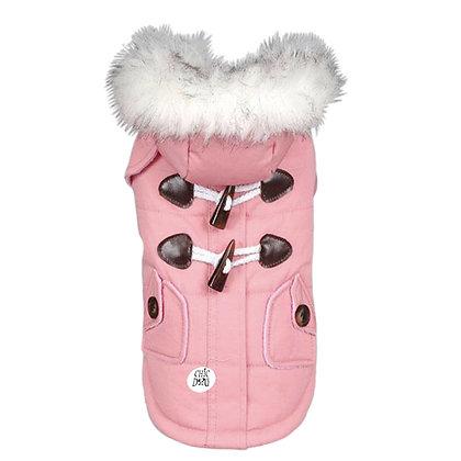 Abrigo para perrita - color rosado