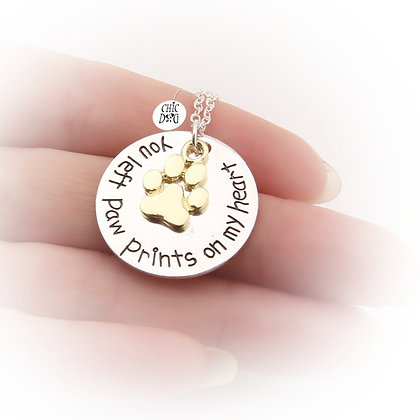 Collar Paw Prints para perros - accesorio