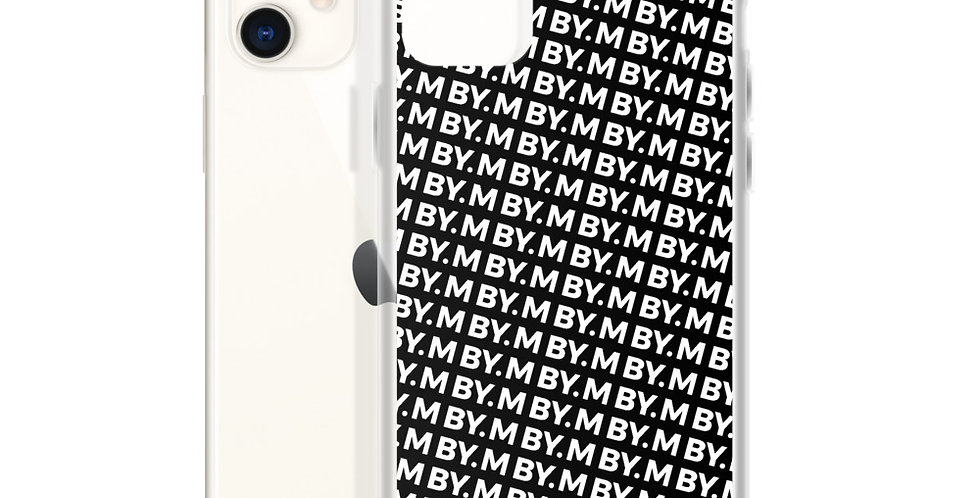 Black iPhone case pattern