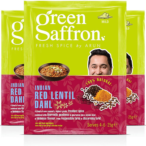 GREEN SAFFRON LENTIL DAHL SPICES