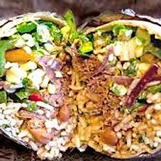 Chicken Tinga Burrito/Halloumi Burrito
