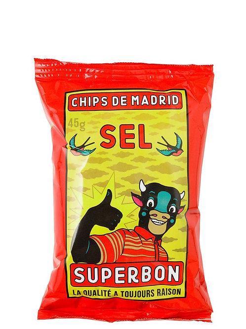 SUPERBON CRISPS 45G SEL